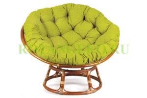 Папасан, зеленая подушка