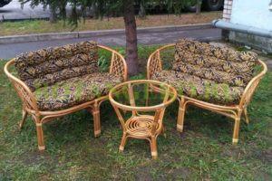 Комплект-Джакарта-ротанг-орех-подушки-бамбук