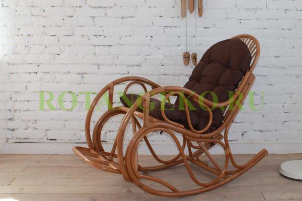Кресло Маргонда, ротанг - орех