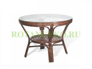 Обеденный стол, коньяк
