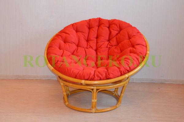 Папасан орех, подушка красная