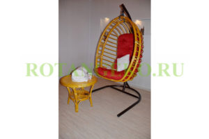 Подвесное-кресло-Борнео-орех-красные