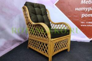 Кресло Франциско, орех, коричневый хаки